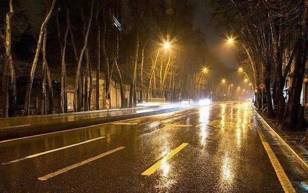 ببینید/ تهران بارانی شد