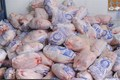 ذخیره سازی 340 تن مرغ منجمد در چهارمحال و بختیاری