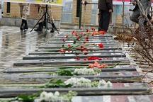 استاندار قزوین به شهدای بویین زهرا ادای احترام کرد