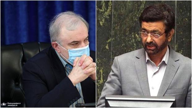 ادامه درگیری های لفظی وزیر بهداشت با نماینده زاهدان + فیلم