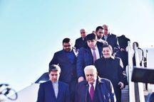 رئیس مجلس ملی آذربایجان وارد فرودگاه ارومیه شد