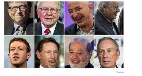 فهرست ثروتمندترین افراد جهان منتشر شد+ عکس