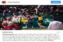 تشکر اینستاگرامی جردن باروس از مردم ایران