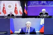 بیانیه مشترک نشست مجازی سران روند آستانه/ تعهد قوی به تمامیت ارضی سوریه