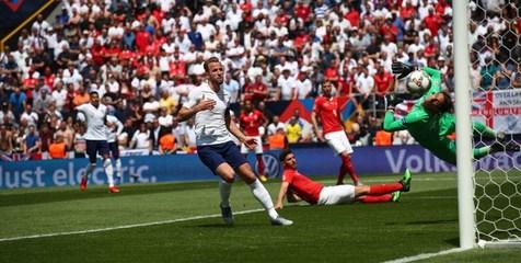 انگلیس با غلبه بر سوئیس در رده سوم لیگ ملت های اروپا قرار گرفت