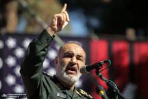 سردار سلامی: مقیاس انتقام ایران درگیری با چهار تروریست نیست