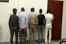 دستگیری موتور سوار قاچاقچی و همدستانش در سرخس