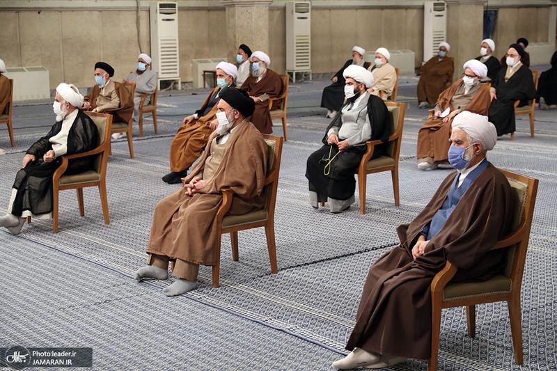 دیدار رئیس و اعضای مجلس خبرگان رهبری با رهبر معظم انقلاب