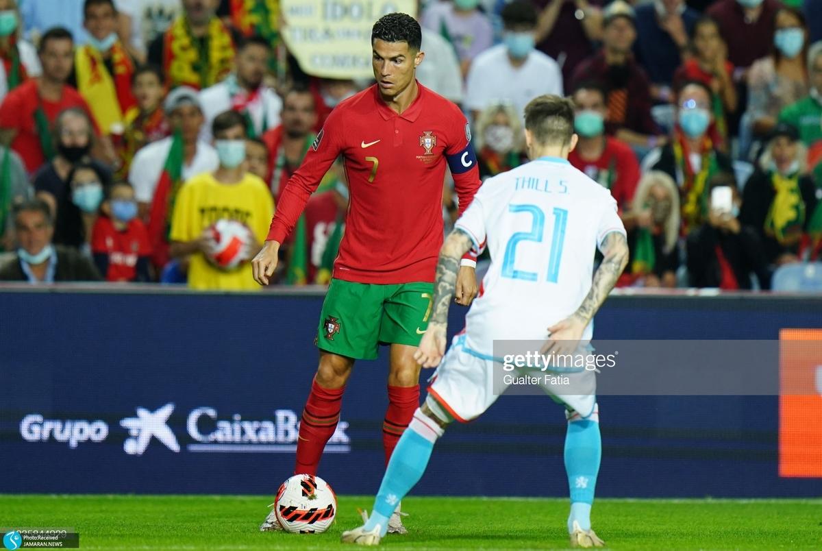 رونالدو هت تریک کرد و پرتغال بُرد/ جدال انگلیس و مجارستان برنده نداشت؛ دانمارک مسافر قطر شد+عکس و ویدیو