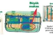 تصویر ایکس ری فرودگاه ترکیه از چمدانهای تیم قتل خاشقجی که حاوی