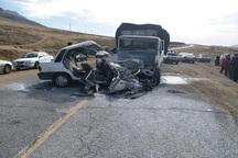 فروردین امسال 17نفر در جاده های زنجان کشته شدند