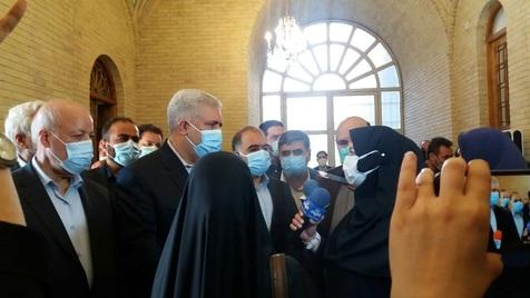 بازگشایی درب عالی مجموعه تاریخی کاخ گلستان