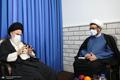 دیدار سرپرست موسسه تنظیم و نشر آثار امام خمینی(ره) با آیت الله حسینی بوشهری