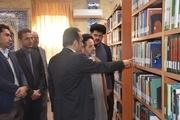 کتابخانه مشارکتی قدمگاه شیراز بازگشایی شد