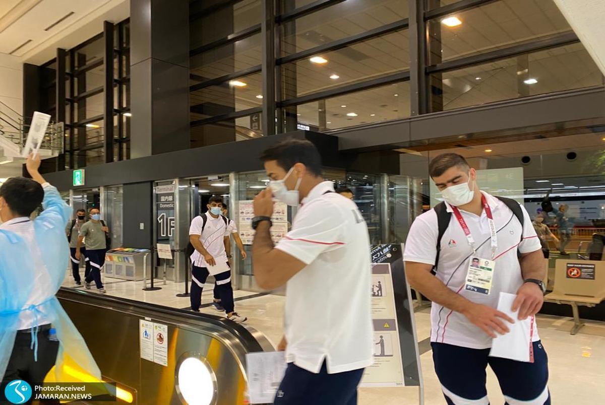 المپیک توکیو 2020| تنها نماینده قایقرانی مردان و فرنگی کاران وارد توکیو شدند