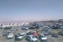 تراز دریاچه ارومیه نسبت به هفته گذشته تثبیت شد