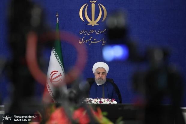 روحانی: تصمیمات ستاد ملی مقابله با کرونا همواره بر پایه خرد جمعی بوده است
