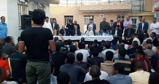رییس کل دادگستری خوزستان با بازداشتشدگان اغتشاشات اخیر دیدار کرد