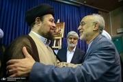 قدردانی سید حسن خمینی از خدمات علی اکبر صالحی