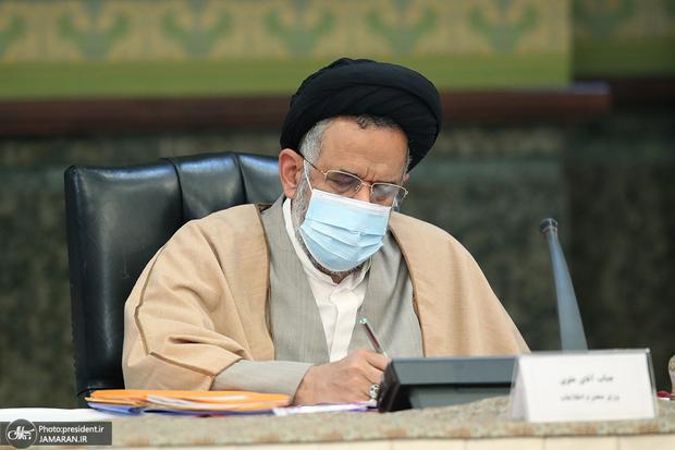 محمود علوی وزیر پیشین اطلاعات از ملت ایران خداحافظی کرد