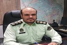 سارقان 52 فقره سرقت داخل خودرو دستگیر شدند