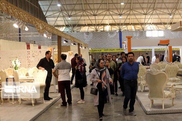 نمایشگاه تخصصی مبلمان و صنایع چوب در رشت گشایش یافت