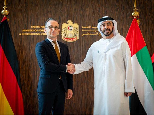 آلمان و امارات درباره ایران بیانیه منتشر کردند