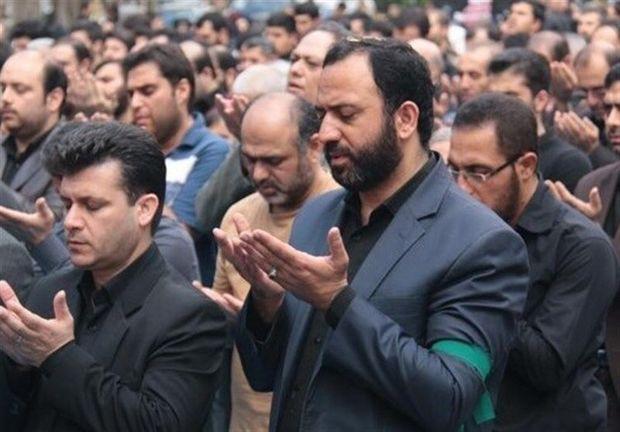 نماز جماعت ظهر عاشورا در استان یزد اقامه شد