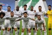 بنر جالب بازیکنان السد و العربی؛  فلسطین در قلب ماست + عکس