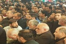 همنشینی صمیمانه سردار سلیمانی با مردم + عکس