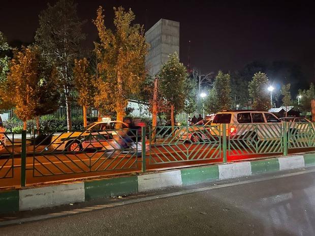 گزارش عجیب صدا و سیما درباره صدای انفجار پارک ملت + فیلم