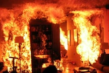 آتشسوزی یک منزل مسکونی در لشکر آبادِ اهواز