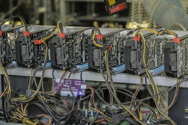 توقیف 53 دستگاه استخراج ارز دیجیتال در خراسان شمالی