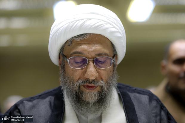 وعده آملی لاریجانی در خصوص بررسی صلاحیت داوطلبان انتخابات 1400