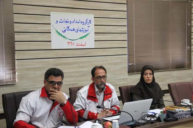 بانک اطلاعاتی تجهیزات و نیروهای امدادی قزوین تهیه می شود