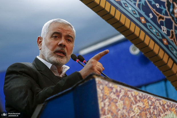 پیام تبریک اسماعیل هنیه به رهبر معظم انقلاب