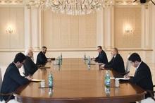 جزییات دیدار ظریف با رئیس جمهور آذربایجان