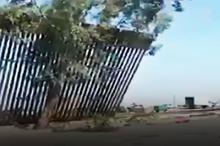 فروریختن دیوارهای فناناپذیر ترامپ در تگزاس با یک باد!