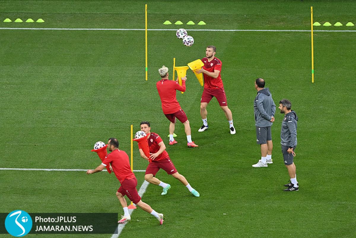 گزارش تصویری از یورو 2020| ستاره های اروپا خارج از 90 دقیقه!