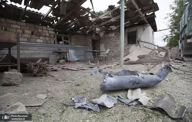 برخورد راکت های جنگ قره باغ به خاک ایران ادامه دارد