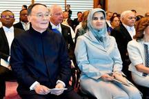 عکسی از حضور معاون روحانی در مراسم تاج گذاری امپراتور جدید ژاپن