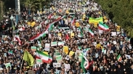 راهپیمایی 22 بهمن در گچساران
