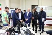 رییس سازمان بازرسی کل کشور از دانشگاه آزاد اسلامی قزوین بازدید کرد