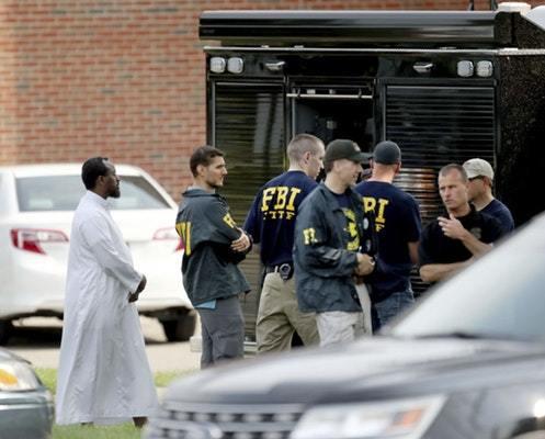 انفجار در مرکز اسلامی آمریکا