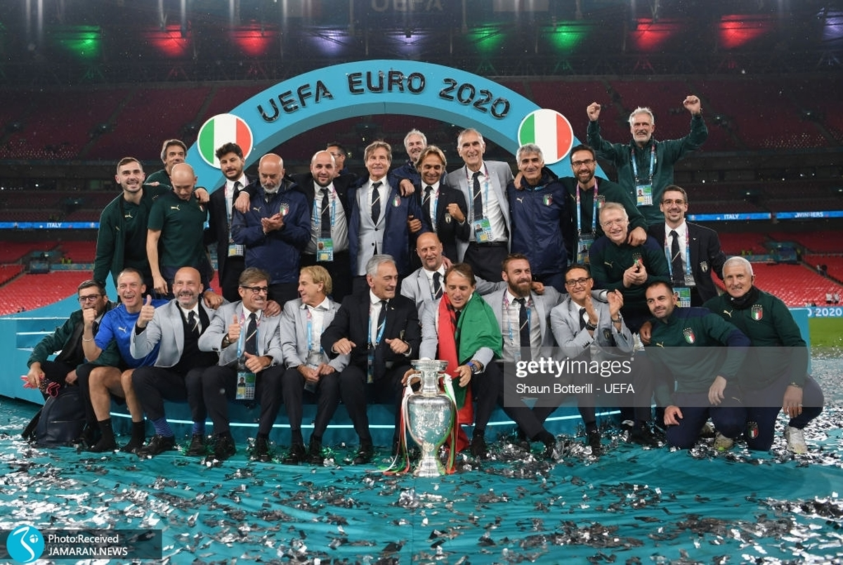 واکنش رسانه های اروپایی به قهرمانی ایتالیا در یورو 2020+ تصاویر
