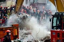 مرگ 10 تن در حادثه ریزش ساختمان در ترکیه