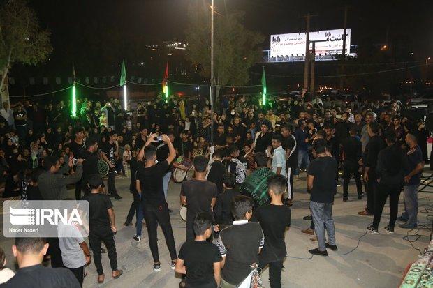 اجتماع عزاداران گتوند در تاسوعای حسینی برگزار شد