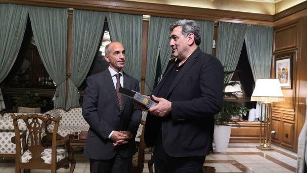 حناچی با نماینده توسعه سازمان ملل در ایران دیدار کرد