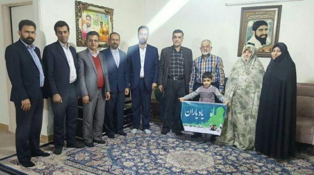 شهدا الگوی درس ایثار و صیانت از انقلاب اسلامی هستند