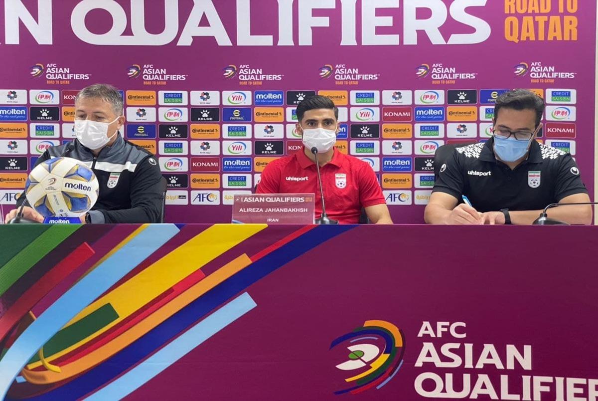 صحبت های اسکوچیچ و جهانبخش قبل از بازی با امارات؛ ایران فقط برد می خواهد